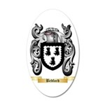 Bedford 20x12 Oval Wall Decal