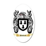 Bedford 35x21 Oval Wall Decal