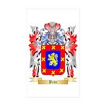 Bede Sticker (Rectangle 50 pk)