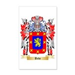 Bede 35x21 Wall Decal