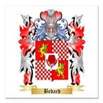 Bedard Square Car Magnet 3