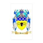 Becu Sticker (Rectangle 50 pk)