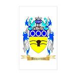 Becquereau Sticker (Rectangle)