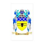 Becquereau Sticker (Rectangle 10 pk)