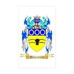 Becquereau Sticker (Rectangle 50 pk)