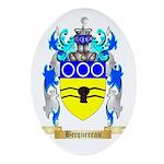 Becquereau Ornament (Oval)