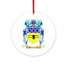 Becquereau Ornament (Round)