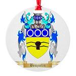 Becquelin Round Ornament