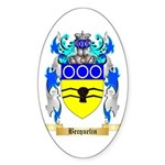 Becquelin Sticker (Oval 10 pk)