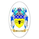 Becquelin Sticker (Oval 50 pk)