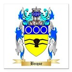 Becque Square Car Magnet 3