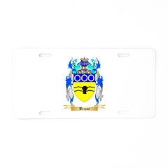 Becque Aluminum License Plate