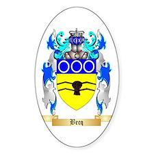 Becq Sticker (Oval)