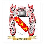 Beckmann Square Car Magnet 3