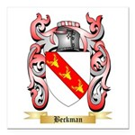 Beckman Square Car Magnet 3