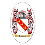 Beckman Sticker (Oval 50 pk)