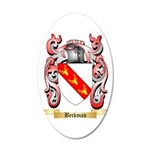 Beckman 20x12 Oval Wall Decal