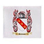 Beckman Throw Blanket