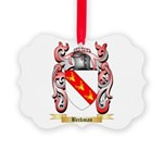 Beckman Picture Ornament