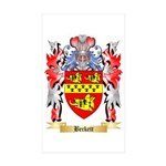 Beckett Sticker (Rectangle 10 pk)