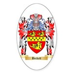 Beckett Sticker (Oval 50 pk)