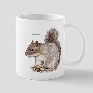 Gray Squirrel Animal Mug