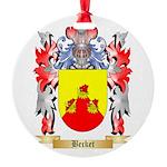 Becket Round Ornament