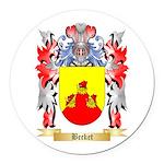 Becket Round Car Magnet