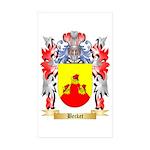 Becket Sticker (Rectangle 50 pk)