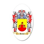 Becket 20x12 Oval Wall Decal