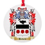 Beckers Round Ornament