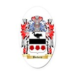Beckers Oval Car Magnet