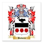 Beckers Square Car Magnet 3