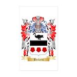 Beckers Sticker (Rectangle 50 pk)