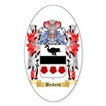 Beckers Sticker (Oval)