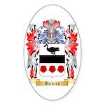 Beckers Sticker (Oval 50 pk)