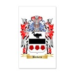 Beckers 20x12 Wall Decal