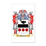 Beckers 35x21 Wall Decal