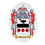 Beckers Ornament (Oval)