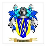 Beckermann Square Car Magnet 3