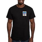 Beckerman Men's Fitted T-Shirt (dark)