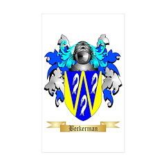 Beckerman Sticker (Rectangle 10 pk)