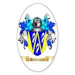 Beckerman Sticker (Oval 10 pk)