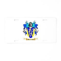 Beckerman Aluminum License Plate