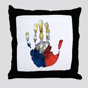 PINOY HAND Throw Pillow