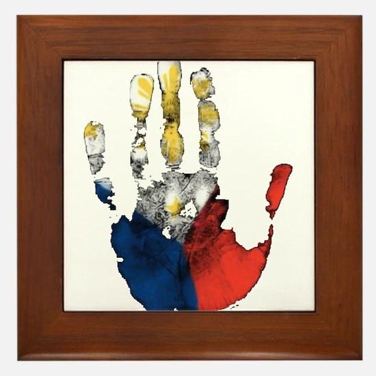 PINOY HAND Framed Tile