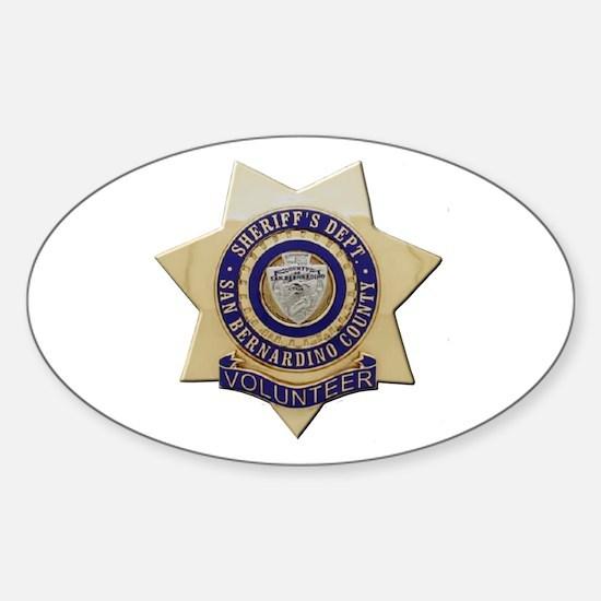 San Bernardino Volunteer Decal