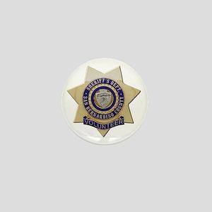 San Bernardino Volunteer Mini Button