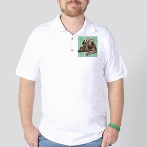 otterhound Golf Shirt