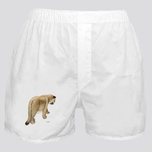 Cougar Cat Animal Boxer Shorts